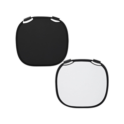 Collapsible Reflector Black/White L (120cm)