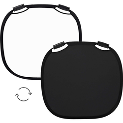 Collapsible Reflector Black/White M (80cm)